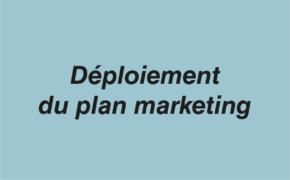Déploiement plan marketing