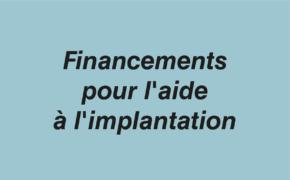 Financement implantation