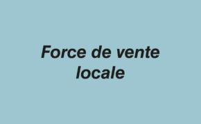 Force de vente locale