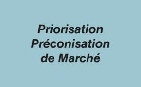Priorisation Préconisation de Marché