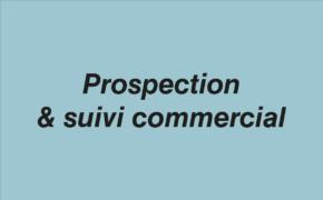 Prospection et suivi commercial